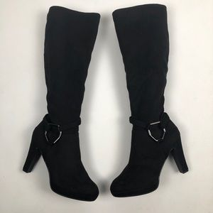 Coach and four Suede Knee high Boots 7.5